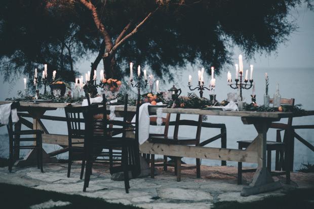 Halloween diner tafel