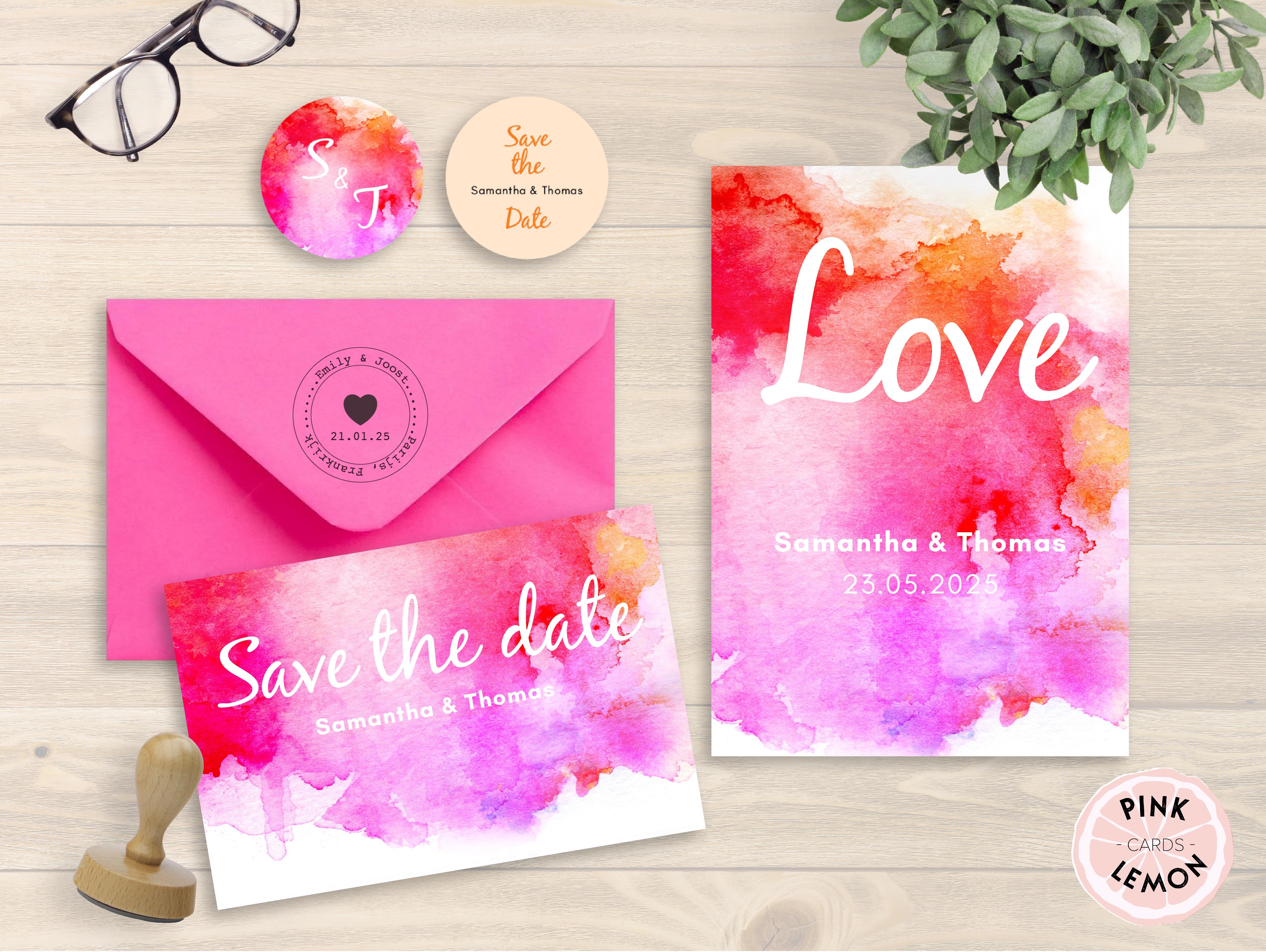 Pink Lemon Cards